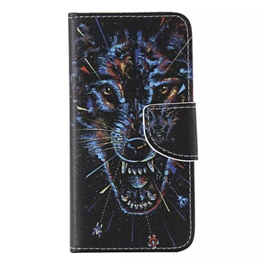 Wolf Pattern Cell Phone Leather iPhone 6 Plus/6S Plus