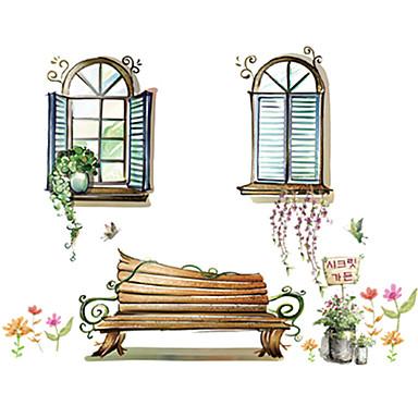 Animali botanica natura morta specchi moda floreale paesaggio tempo libero adesivi - Specchi adesivi da parete ...
