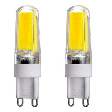 4w g9 2 pins led lampen t 1 cob 300 450 lm warm wit koel. Black Bedroom Furniture Sets. Home Design Ideas