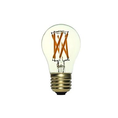 5W E26/E27 Lâmpadas de Filamento de LED A50 6 COB 300-500 lm Branco Quente Re...