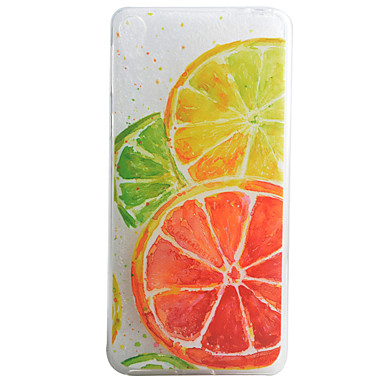 Lemon Pattern Material TPU Phone Case Sony Xperia E5 XA