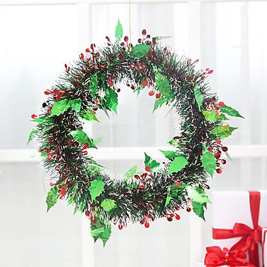 Christmas Window Decoration Green Wreath 5397499 2017