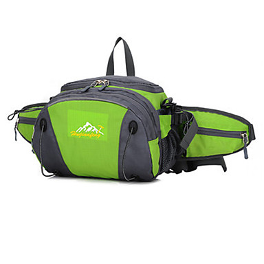 20 L Waist Bag/Waistpack Camping & Hiking Jogging Cycling/Bike Traveling Running Outdoor Performance Leisure SportsWaterproof Rain-Proof