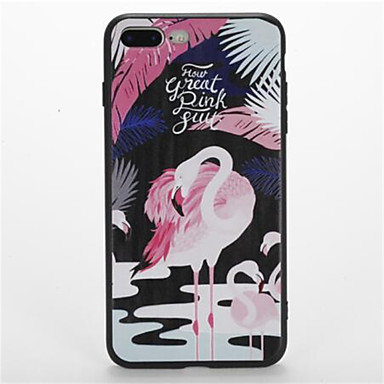 For Pattern Case Back Cover Case Flamingo Soft TPU for Apple iPhone 7 Plus iPhone 7 iPhone 6s Plus iPhone 6 Plus iPhone 6s iPhone 6