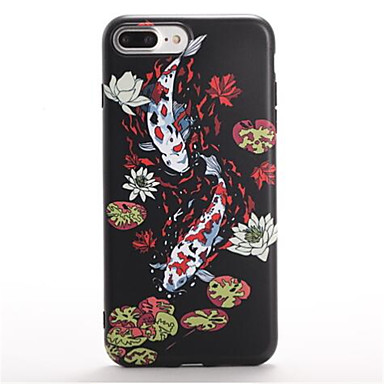 For Pattern Case Back Cover Case Animal Soft TPU for Apple iPhone 7 Plus iPhone 7