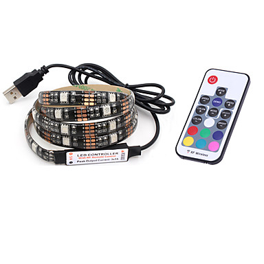 Brelong 6.5-Foot 60-LED USB RGB Waterproof Strip Lights