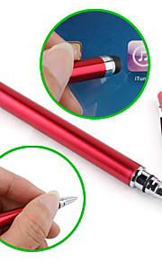 Touchscreen Writing Stylus with Ball Pen for iPad, iPhone, Playbook, Xoom and P1000 (Red)