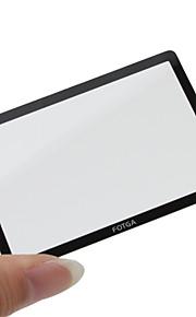 Fotga Premium LCD-skærm panel protektor Glas til Canon EOS 60D