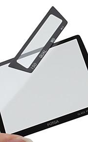 FOTGA Prêmio Tela LCD Panel Protector de vidro para Nikon D3/D3x