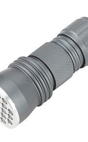 Lanternas LED / Lanterna de Luz Negra / Lanternas de Mão LED 1 Modo 50 Lumens Outros AAA Outros , Cinzento Liga de Aluminio