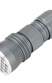 LED Lommelygter / Ultraviolette lommelygter / Lommelygter LED 1 Tilstand 50 Lumens Andre AAA Andre , Grå Aluminiums Legering