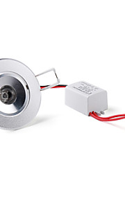 3W Taklys Innfelt retropassform 1 Høyeffekts-LED 300 lm Naturlig hvit AC 85-265 V