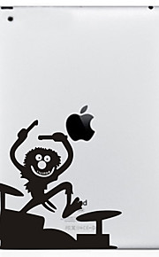 Primitive Pattern Protective Sticker for The New iPad and iPad 2