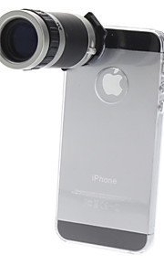 6x Optinen zoom teleskooppi linssi iPhone 5:n kameralle
