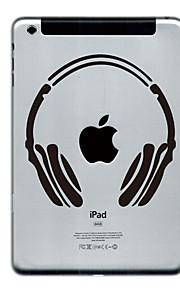 Headset Design Protector Sticker for iPad mini 3, iPad mini 2, iPad mini