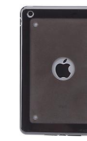 bereift Oberfläche tpu harter Fall für ipad mini 3, ipad mini 2, iPad Mini (verschiedene Farben)