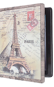 Retro Paris tower Pattern PU Leather Case for iPad 2/3/4