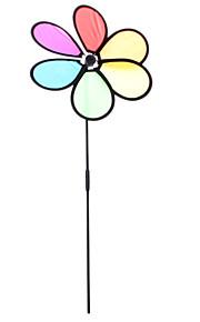 """11 """"6-Petal Rainbow Garden Spinner"""