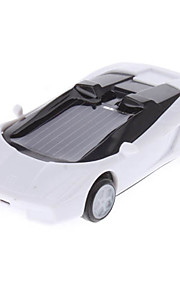 Solar Power Mini Racing Car (Hvid)