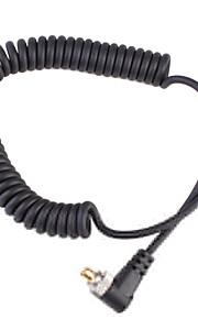 2,5 Mm Til Han Flash Pc Synkronisering Kabel Ledning Med Skrue Lås (1M)