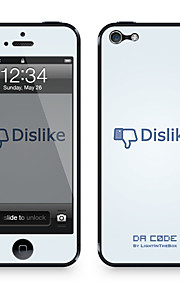 "Da Code ™ Skin for iPhone 4/4S: ""Dislike på Facebook"" af Steven Lin (Creative Series)"