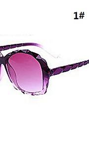 Kvindes diamantslibning rammeform solbriller