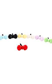 Kunststoff-Muster-Anti-Staub Stecker (zufällige Farben)