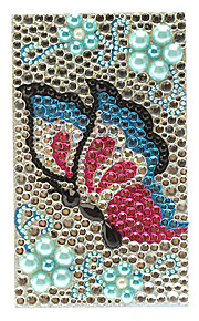 Bejeweled Butterfly in Flora Jewelry Protective Body Sticker for Cellphone