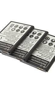 Vervanging van 3.7V 2300mAh batterij voor Samsung Galaxy S3 I9300 (3 delig pak)