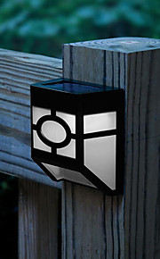 Solar Powered Wall Mount 2 Led Lantern Lett Deck Lampe (Cis-57120)