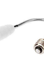 E27 til E27 60cm LED Light Bulb Fleksibel Extend Adapter Socket