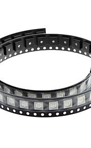 DIY 0.02W 5050SMD RGB LED Emitters - White (50 STK)