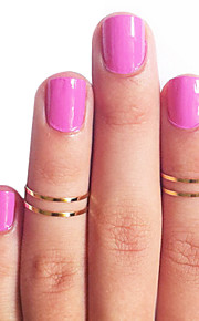 Ring,Midi Rings,Jewelry Copper Daily Gold / Silver5 Women