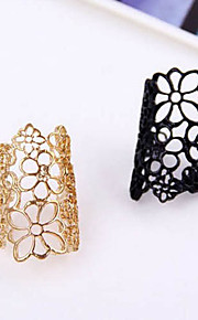 Ring,Statement Rings,Jewelry Alloy Party / Casual Gold / Black Women