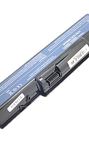 Laptop Battery 5200mAh Replacement for Gateway D725 D525 NV53 NV56 NV58 AS09A31 AS09A73 AS09A75 - Czarny