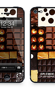 "Pelle Codice Da ™ per iPhone 4/4S: ""Chocolate Lover"" (Abstract Series)"