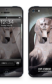 """Da Code ™ Skin for iPhone 5/5S: """"Sphinx from the Louvre"""" (Masterpieces Series)"""
