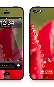 """Da Code ™ Skin for iPhone 4/4S: """"Water Droplets on a Flower"""" (Plants Series)"""