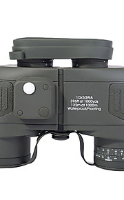 10x50 Floating Binoculars With RANGEFINDER And Compass RETICLE