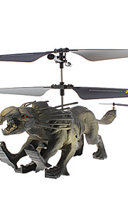 Attop YD-715 3ch Wild Animal Shaped RC Helikopter med gyroskop