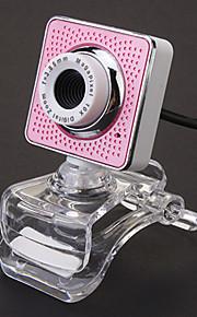 2.0 Megapixel 180 Degree Rotating USB Drive-free Webcam