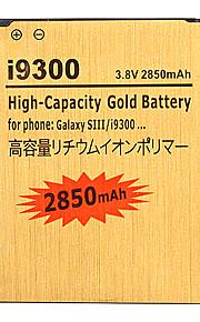2850mAh mobiele telefoon batterij voor Samsung i9300 Galaxy S3 S 3 SIII S III EB-L1G6LLU