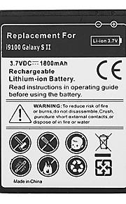 1800mAh mobiele telefoon batterij voor Samsung Galaxy S2 GT-i9100 GT-I9003 SII