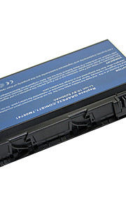5200mAh laptop batteri för Acer Travelmate 5220 5220G 5230 5310 5520 5530 LC.TM00741 LIP6219VPC TM00751-Black