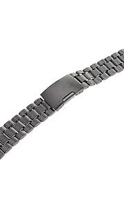 Masculino Feminino Pulseiras de Relógio Aço Inoxidável #(0.068) Acessórios de Relógios