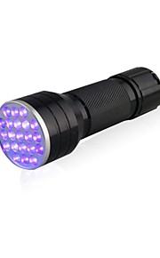 Lights LED Flashlights/Torch / Black Light Flashlights/Torch / Handheld Flashlights/Torch LED Lumens 1 Mode 5mm Lamp AAAWaterproof /
