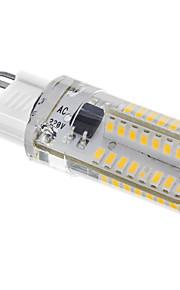 3W G9 LED-kornpærer T 64SMD SMD 3014 220-240LM lm Varm hvit Dekorativ AC 220-240 V