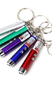 Lanternas LED / Lanternas de Mão LED 1 Modo <50 Lumens Outros AG13 Viajar / Montanhismo - Outros ,Azul / Verde / Púrpura / Vermelho /