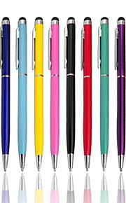 Tela de toque capacitiva Stylus Pen com caneta esferográfica para Apple iPhone / iPad / Samsung Galaxy
