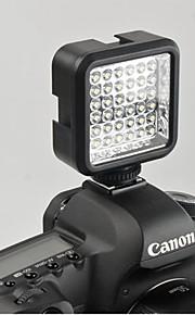 wansen 36 LED Luz de Vídeo lâmpada 4W 160LM para Nikon Canon DV Filmadora com Carregador